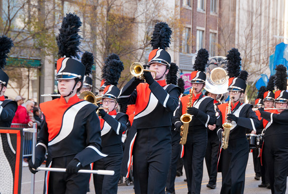 Submit a Marching Band